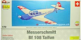HELLER Messerschmitt Me-108B Kit Plastik 1:72