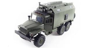 RC Ural B36 Militär LKW 6WD RTR 1:16 grün