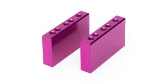 VMot Motorblöcke violett 2St