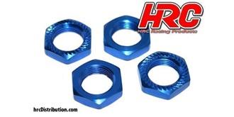 Radmutter 1:8 blau 17x1.25mm 4St (HPI,TRAX)