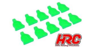 KarZub Klammer Grip-Halter grün 10St