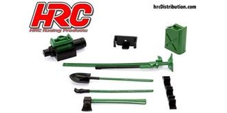 Body Parts Werkzeug Satz grün 1:10