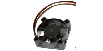 Ventilator 30x30mm schwarz 5-9V JR