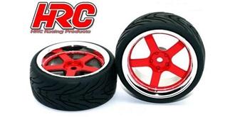 Reifen HRC Street-V rot-chrome 2St