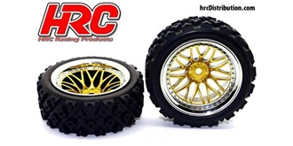 Reifen 1.9 Rally 12mm 1:10 2St
