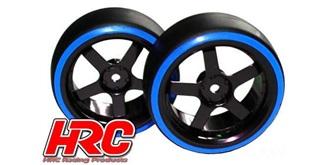 """Reifen 1:10 """"Drift"""" blau Offset +3mm 2St"""