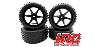 Reifen HRC 1:10 Buggy Noppen vorn+heck 4St (12mm)