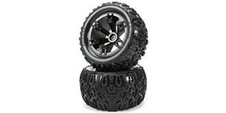 Reifen 1:10 Monster E5 schwarz 14mm 2St
