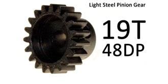 Ritzel Modul 48Dpi 19T lightsteel