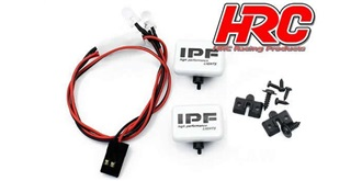Zusatztscheinwerfer IPF 2St. mit LED