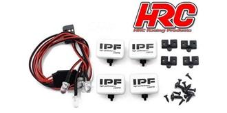 Zusatztscheinwerfer IPF 4St. mit LED