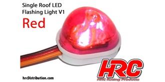 Licht Blinklicht V1 rot 1St