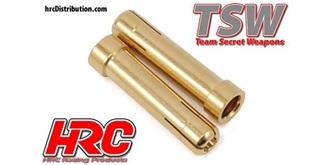 Stecker Reduzierhülse 5 zu 4mm 2St