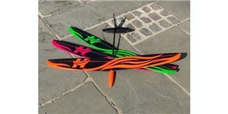 RC Flug Hawk DLG CFK 1000mm