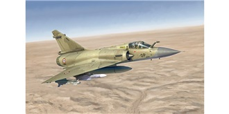ITALERI Mirage 2000C 1:72 Kit Plastik