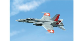 ITALERI FA-18 Swiss Air Force 1:72 Kit Plastik