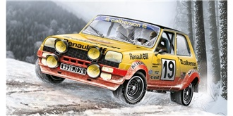 ITALERI Renault 5 Rally 1:24 Kit Plastik