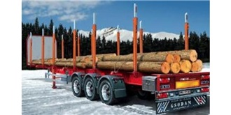 ITALERI Auflieger Holztransporter 1:24 Kit Plastik