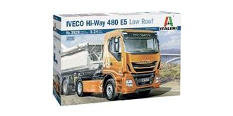 ITALERI Iveco Hi-Way 480 E5 Low Roof 1:24 Kit Pl..
