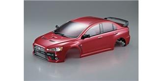 Karosserie Mitsubishi Lancer Evo X rot b=190mm