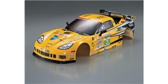 Karosserie Corevette GT2 Racing gelb b=190mm