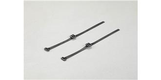 KarZub Spannband Stoff kurz 160mm 2St