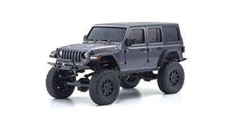 RC Kyosho Mini-Z Jeep Wrangler Rubicon grau 4WD ..