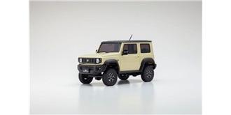RC Car Kyosho Mini-Z Suzuki Jimny crème 4WD MX01