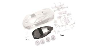 Mini-Z Karosserie McLaren P1 GTR unlackiert