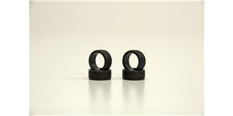 Mini-Z Reifen Radial vorn 20° soft 4St