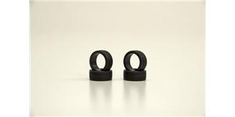 Mini-Z Reifen Radial vorn 40° hard 4St