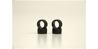 Mini-Z Reifen Radial heck 20° soft 4St