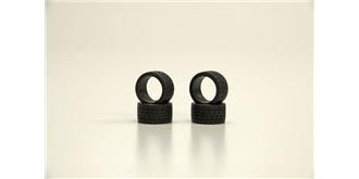 Mini-Z Reifen Radial heck 40° hard 4St