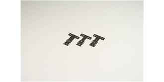 Mini-Z T-Bar Aufhängungsplatte CFK MR03 MM/LM