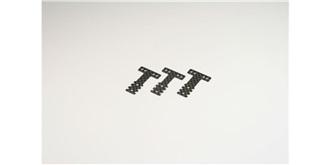 Mini-Z T-Bar Aufhängungsplatte CFK MR03 RM/HM
