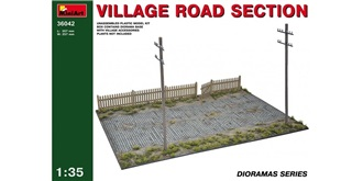 Mini Art Diorama Dorfstrasse 357mmx257mm 1:35 Ki..