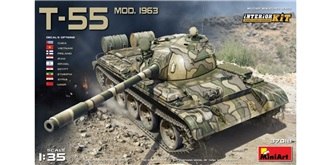 Mini Art Panzer T55 1963 1:35 Kit Plastik