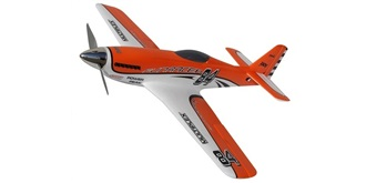RC Flug Multiplex FunRacer orange 885mm RR