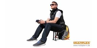 Rucksack Multiplex mit integerierten Sitz
