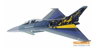 RC Flug Multiplex Eurofighter Indoor Edition 700mm
