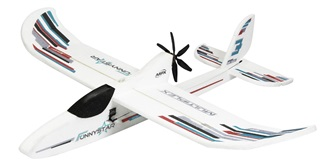 RC Flug Multiplex FunnyStar 850mm Kit+ Elektronik
