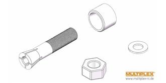 FunCubXL Propmitnehmer 5mm / Schaft 8mm