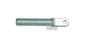 Ruderhorn Augenschrauben ALU, M4x25mm          6St