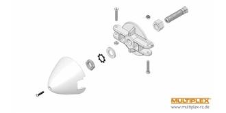 EasyGliderPRO/Heron Spinner 4mm Motorwelle
