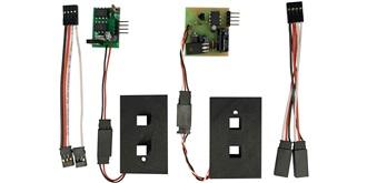 Wireless Servo Flügelverbinder WS1 für 2 Servo