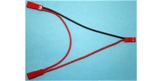 Stecker V-Kabel BEC Serie 15cm