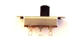 Schiebeschalter 35mm 1xUM 250V / 10A