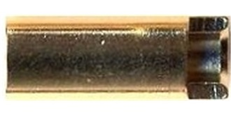 Stecker G5,5 Buchse geschlitzt 2St