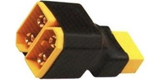 Stecker XT60 Kurzadapter seriell 1St