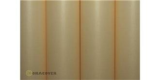 Oratex weiss-antik Bügelfolie 10m Rolle